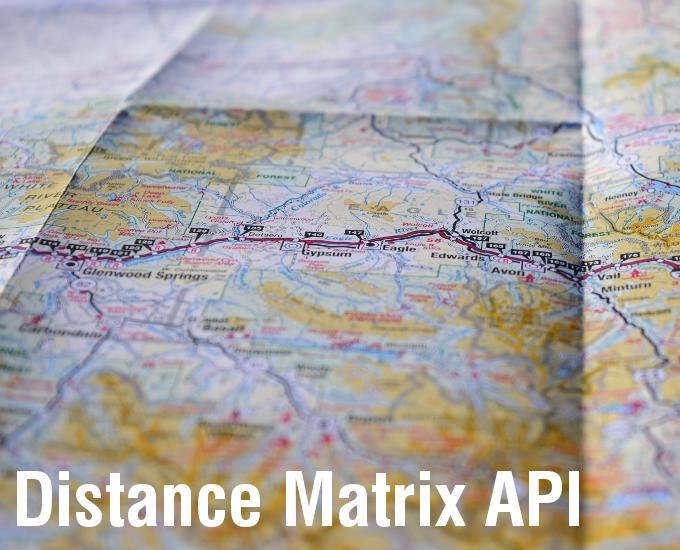 DistanceMatrix API