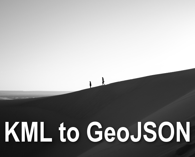 KML to GeoJSON