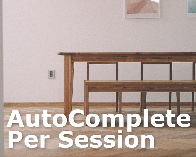 AutoCompletePerSession